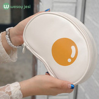 Makeup bag New Korean Cartoon eggs travel clothing organizer Cosmetic Bag Makeup pouch Case Zipper Cheap Clean Women Bags-in Cosmetic Bags & Cases from Luggage & Bags on Aliexpress.com | Alibaba Group