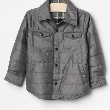 Gap Baby Quilted Shirt Jacket
