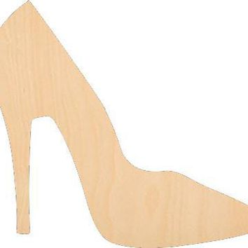 High Heel Shoe - Laser Cut Shapes - Home-Food-People