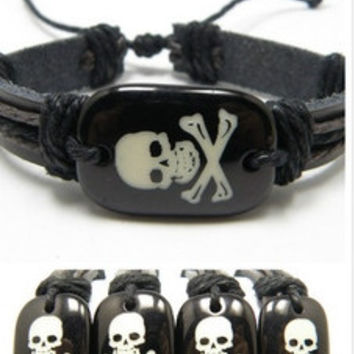 UNISEX Skull Bracelet Hip Hop Trendy and Styish.
