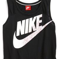 Girl's Nike 'HBR J' Dri-FIT Crop Top,