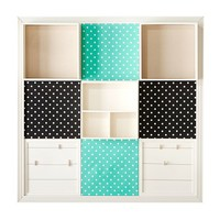 3x3 Pool Black Dottie Style Tile 2.0 Set