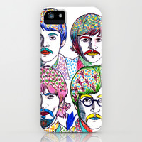 The Beatles Origami iPhone & iPod Case by YOYO! Ferro