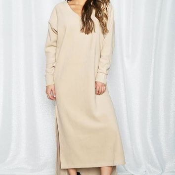 Women's Loose Fit Maxi Dress