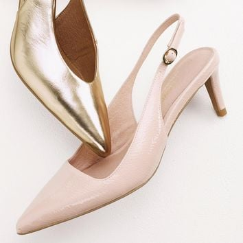 Buy Nude Point Slingbacks from the Next UK online shop