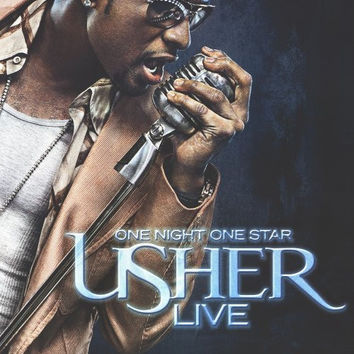 One Night One Star: Usher Live 11x17 TV Poster (2005)