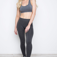 Relax Tonight Leggings - Charcoal