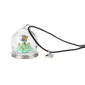 Licensed cool NEW Adventure Time With Finn & Jake Terrarium Globe Dome Pendant Cord Necklace