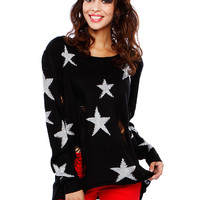 DESTROYED STET SWEATER TOP