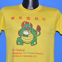 70s Chinatown Ice Cream Factory Dragon t-shirt Small
