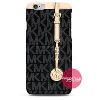 Michael Kors MK Bag Black Gold iPhone Case 3, 4, 5, 6 Cover