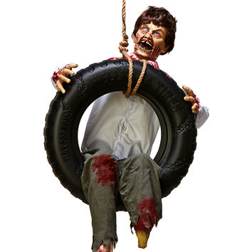 Tire Swing Zombie Boy – Spirit Halloween