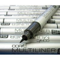 Copic Multiliner Sp Brush Black Pen