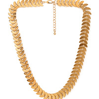 Ethereal Wreath Collar Necklace