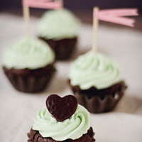 Chocolate Peppermint Patty Cupcakes - Bakingdom
