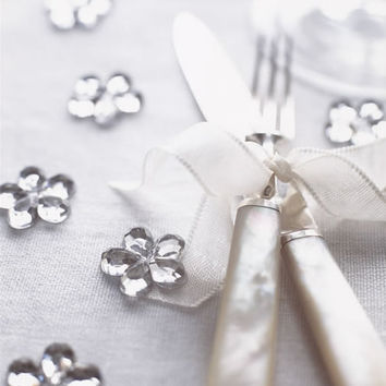 Silver Scatter Flowers ? Cox & Cox, the difference between house and home.