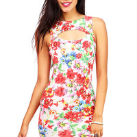 Bloom Keyhole Dress