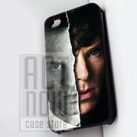 Sherlock Holmes Benedict Cumberbatch - for case iPhone 4/4s/5/5c/5s-Samsung Galaxy S2 i9100/S3/S4/Note 3-iPod 2/4/5-Htc one-Htc One X-BB Z10