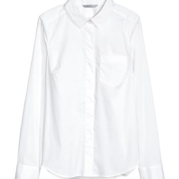Fitted Shirt - from H&M