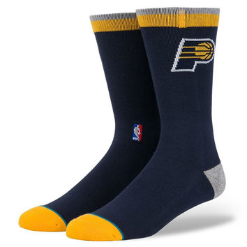 Stance Pacers Arena Logo Socks In Navy