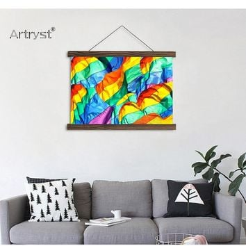 Colorful Artwork Canvas Painting For Wall Decor