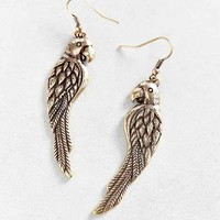 Birds Of A Feather Drop Earring- Gold One