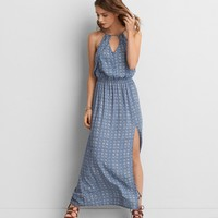AEO KEYHOLE MAXI DRESS