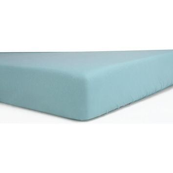 Baby Blue Egyptian Cotton Fitted Crib Sheets