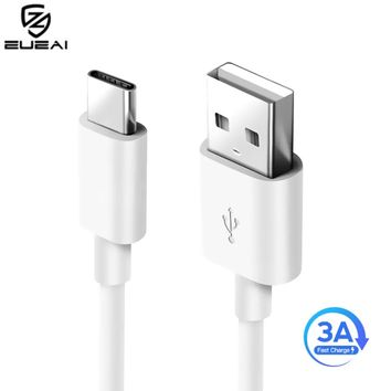 3A USB Type C Fast Charging usb c cable Type-c 3.1 data Cord Phone Charger For Samsung S9 S8 Note 9 8 Xiaomi mi8 mi6 For huawei