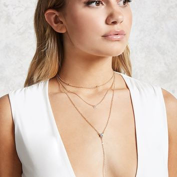Layered Choker Chain Set