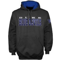 NCAA Duke Blue Devils Knockout Pullover Hoodie - Charcoal (Large)