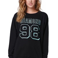 Diamond Supply Co Diamond 98 Crew Fleece - Womens Hoodie - Black