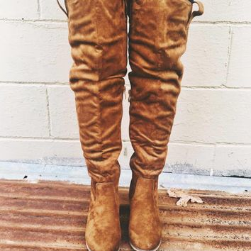 Suede Baby Boot