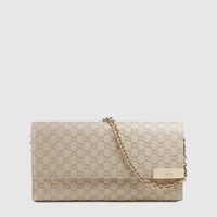 Gucci - microguccissima leather chain wallet 269541BMJ1G9176