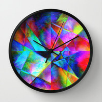 "Wall Clock ""Bright Geo"""