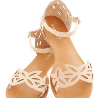 ModCloth Fairytale Ice and Easy Sandal