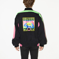 80's New Kids On The Block Zip-Up Jacket