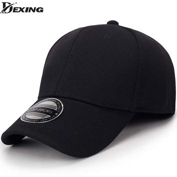 Trendy Winter Jacket solid unisex black baseball cap men snapback hat  women cap flexfit fitted hat Closed  Male full cap  Gorras Bones trucker hat AT_92_12