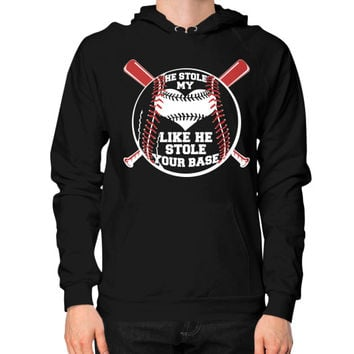 He stole my heart Hoodie (on man)