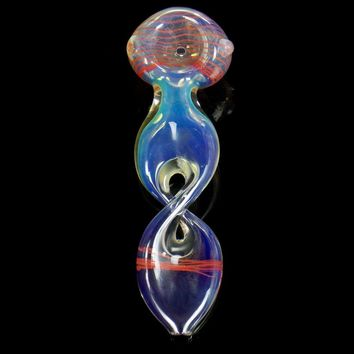 Twisted Helix Red Spoon