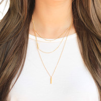 Layers to Fall Necklace