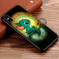 Swimming with Turtle Stitch iPhone X 8 7 Plus 6s Cases Samsung Galaxy S8 Plus S7 edge NOTE 8 Covers #iphoneX #SamsungS8