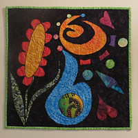 Art Quilt Wall Hanging