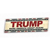 Retro Style Trump 2016 Make America Great Again Bumper Sticker