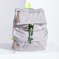 Nylon Bungee Flap Backpack - Urban Outfitters
