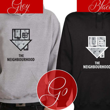 The Neighbourhood Hoodie Sweatshirt Sweater Shirt black and white Unisex