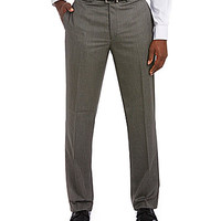 Ralph Ralph Lauren Flat-Front Dress Pants - Grey