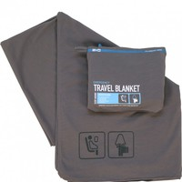 F1 TRAVEL BLANKET CHARCOAL