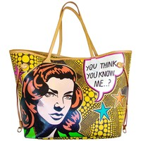 Custom Louis Vuitton Neverfull MM Tote Bag by Boyarde Pop Art Rare One-Of-A-Kind