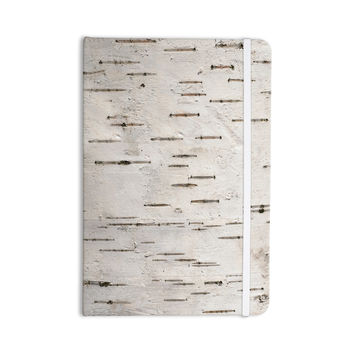 "Susan Sanders ""Painted Tree"" White Rustic Everything Notebook"